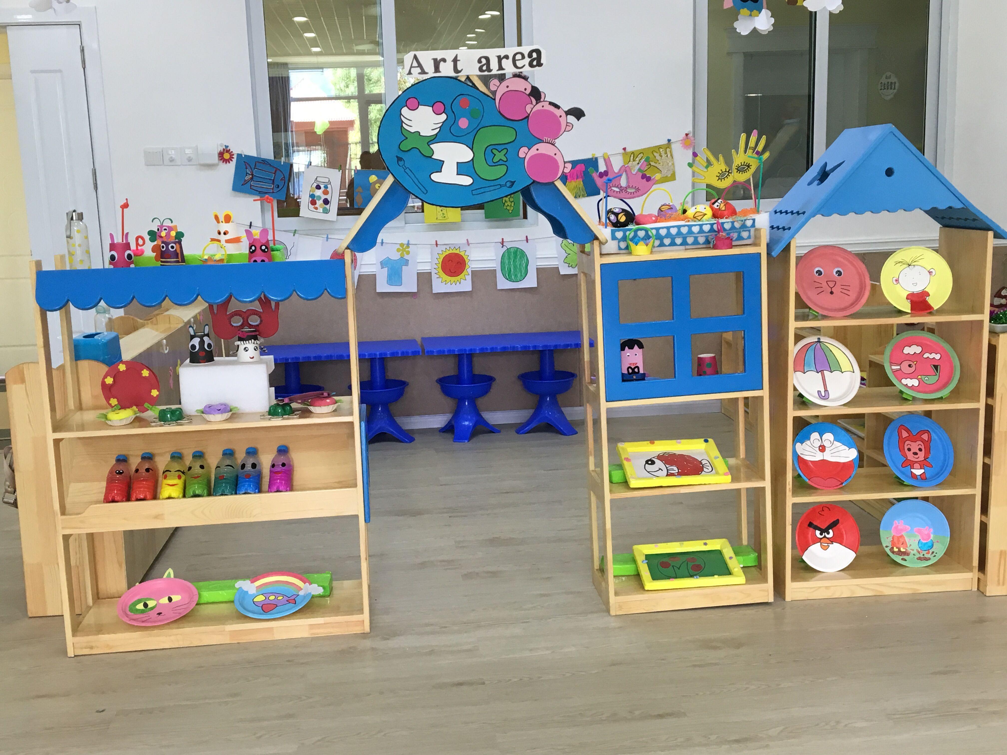 幼儿阅读区区域设计图